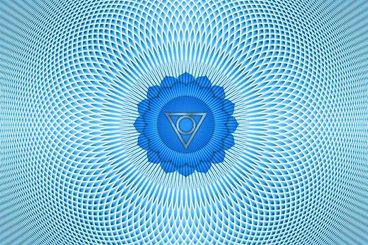 blauw chakra