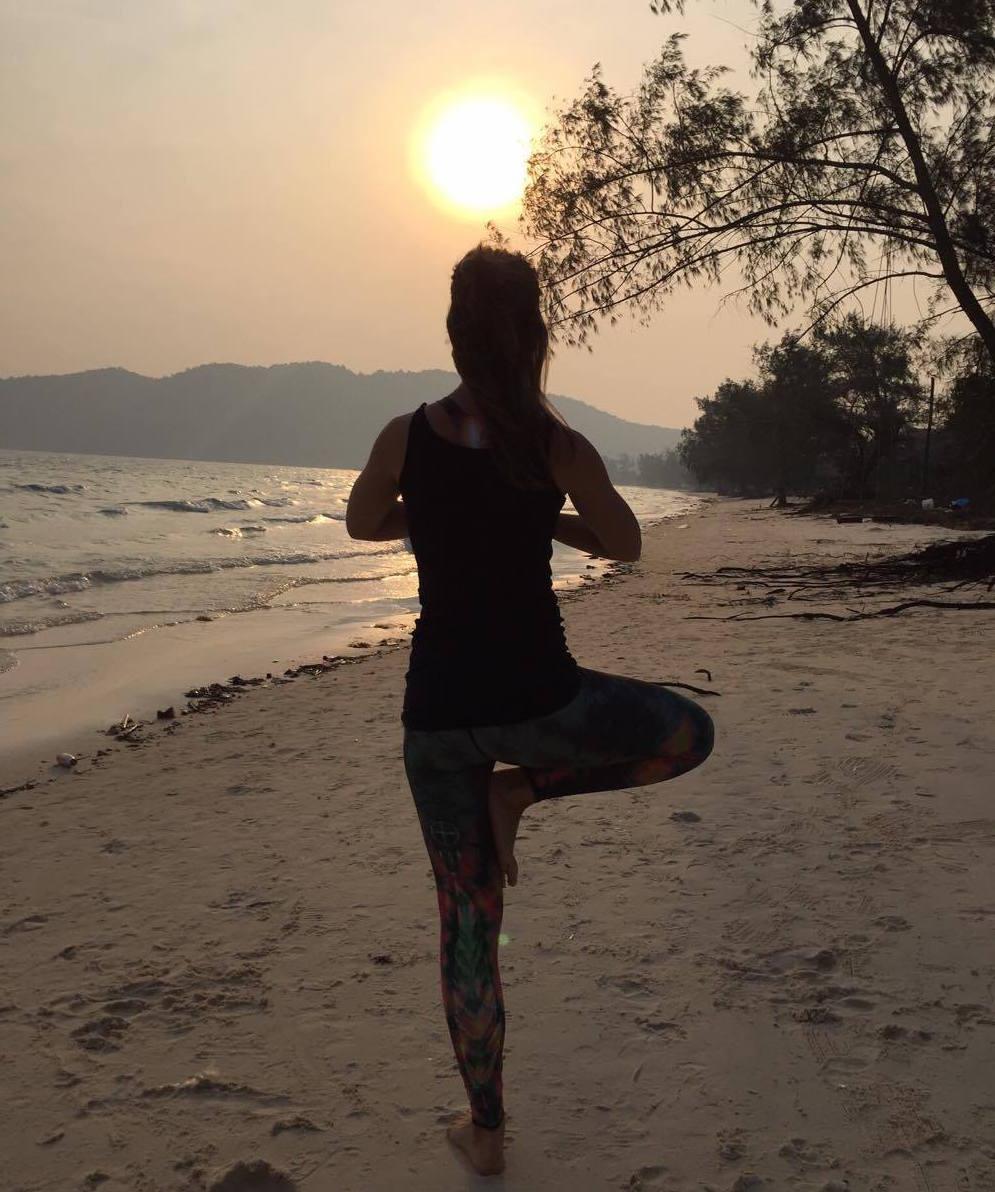 Boomhouding Yoga, balans van top tot teen - Happy with Yoga