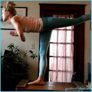 held yoga houding