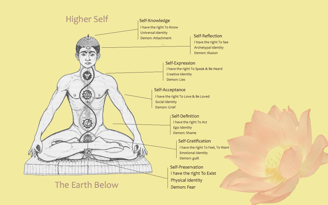 chakra yoga oefeningen