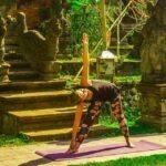 Triangel Yoga houding (Driehoekshouding)
