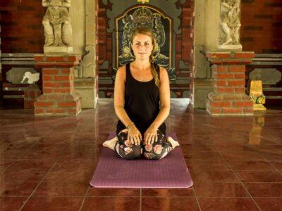 yoga diamant houding