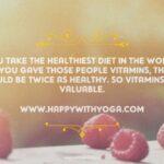 De voordelen van Voedingssuppletie