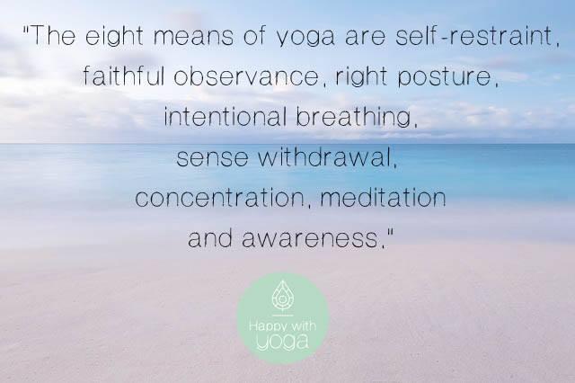 achtvoudige pad van yoga