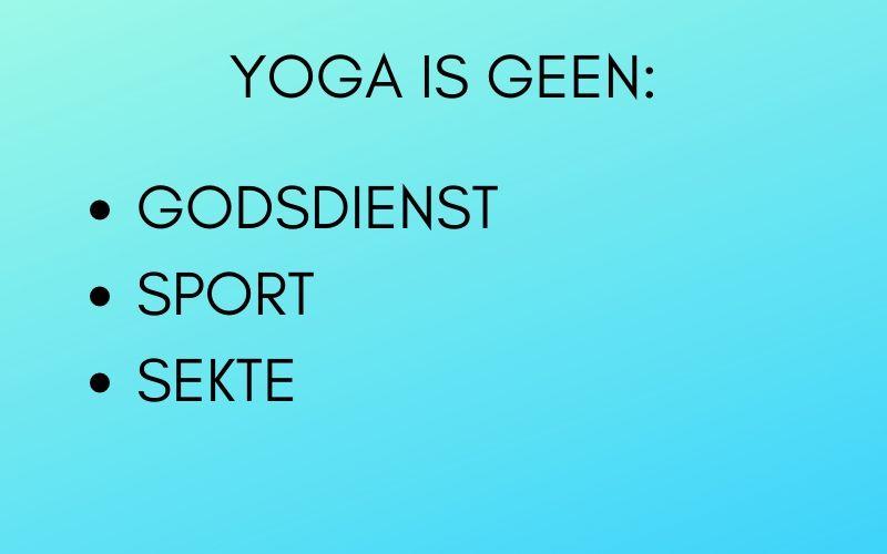 Yoga-betekenis