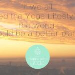 Yoga als levensstijl, ook als je van de mat stapt!