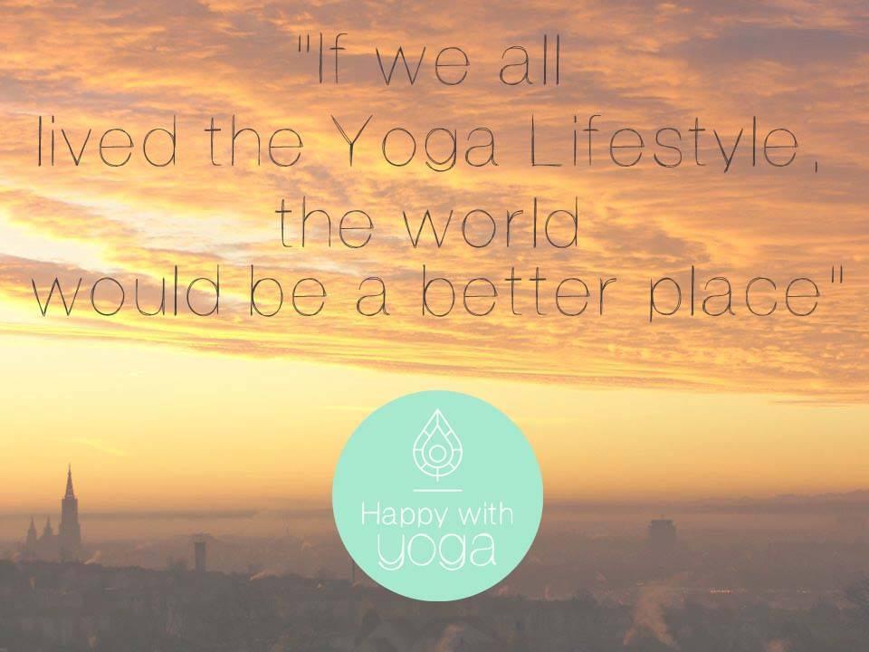 yoga als levensstijl