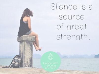 wat is stilte