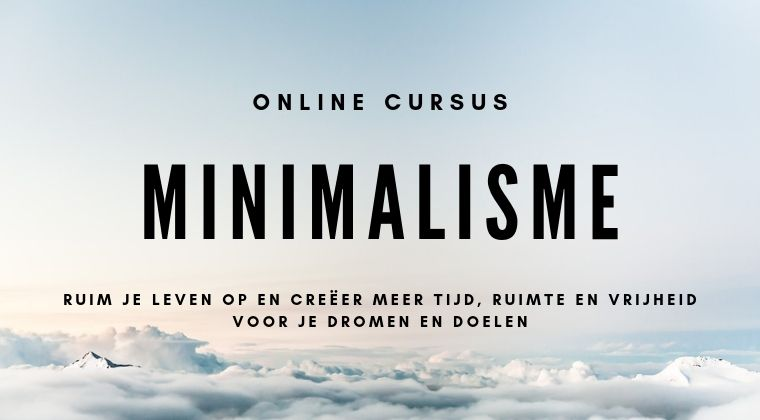 Online-cursus-minimalisme
