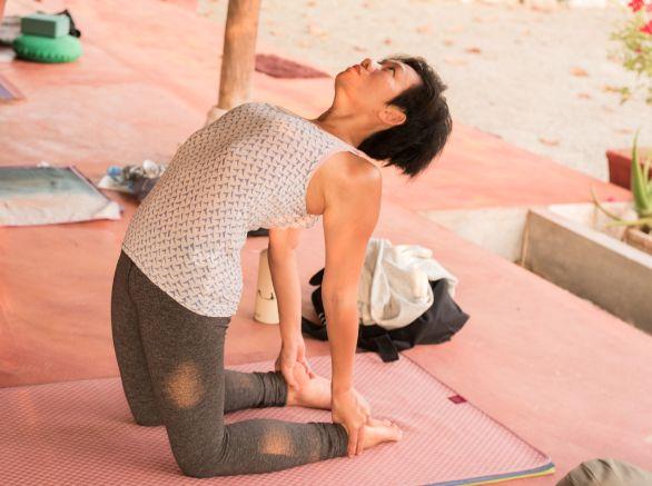 Yoga Heupopeners ustrasana