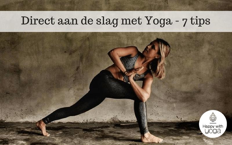 aan de slag met yoga