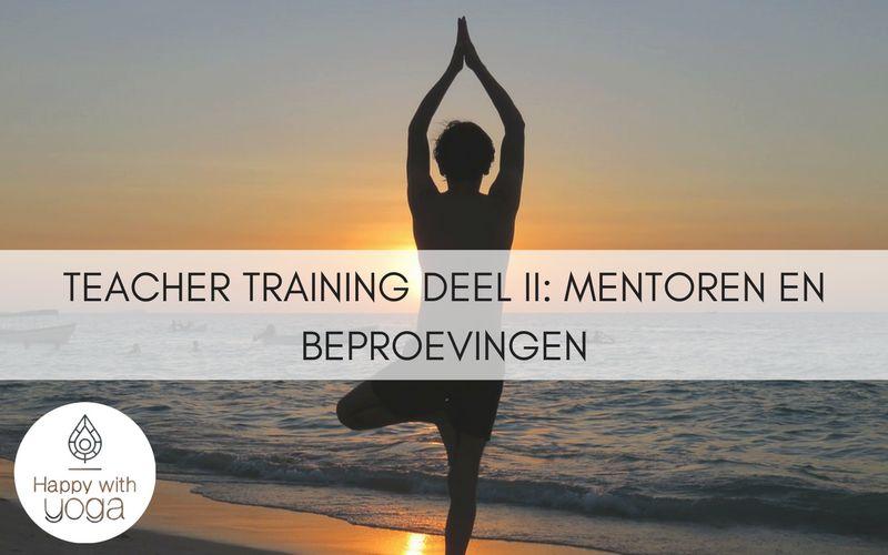 Teacher training deel II - Mentoren en beproevingen