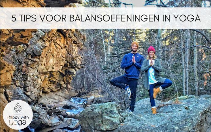 tips voor balansoefeningen in Yoga