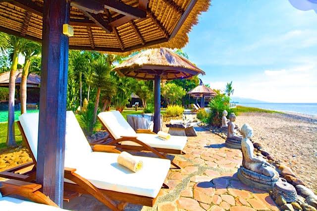 strand yoga vakantie bali