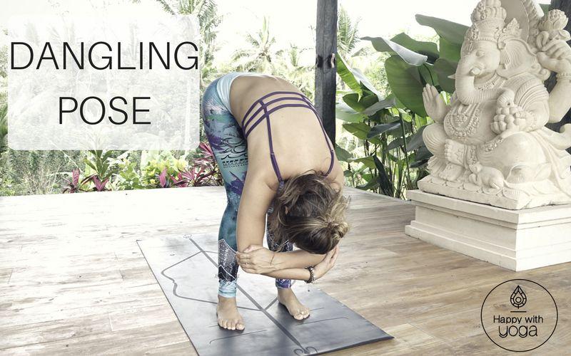 dangling pose lage rugpijn