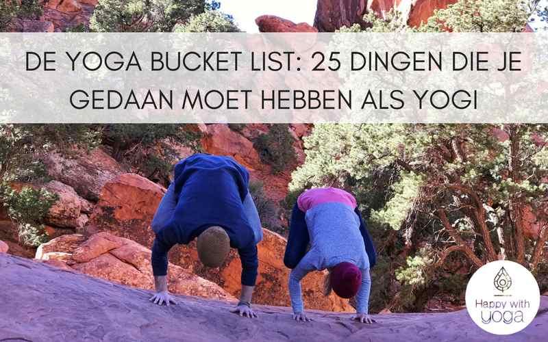yoga bucket list