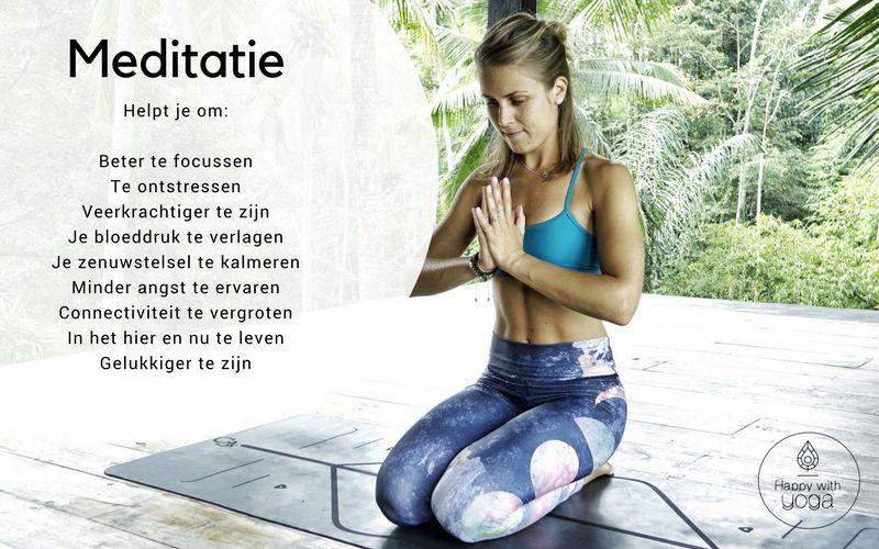 meditatie yoga beginners