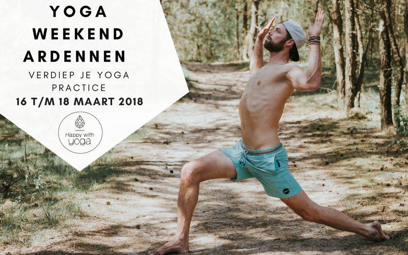 Yoga weekend Ardennen