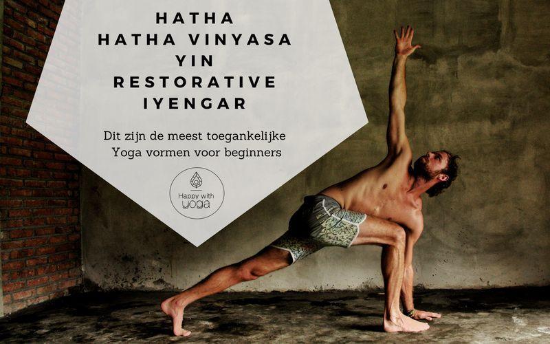 yogavormen voor Yoga beginners