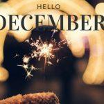 Help! December de feestmaand. Dag gezonde leefstijl. Of toch niet?