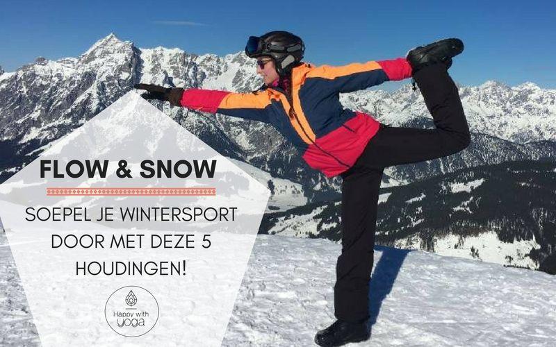 Flow Snow snowga yoga wintersport