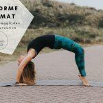 De Liforme Yogamat – nooit meer wegglijden tijdens je practice