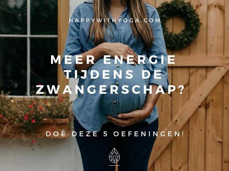 meer energie tijdens de zwangerschap