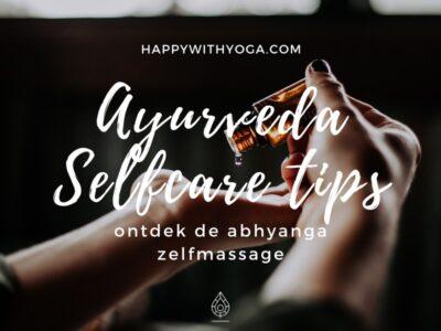 Abhyanga zelfmassage