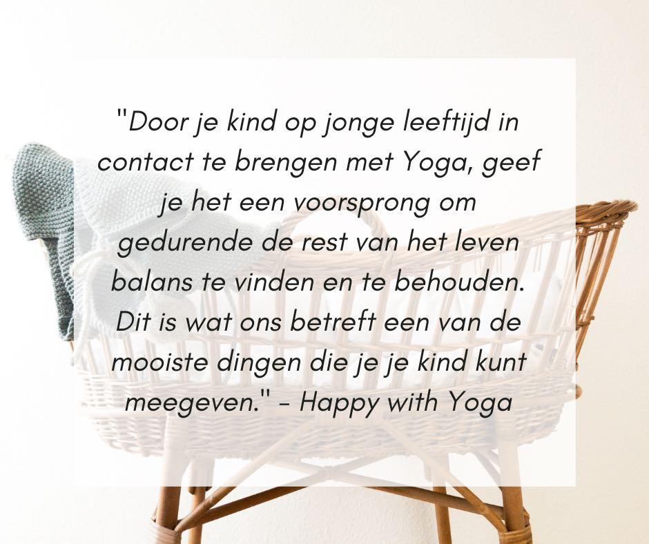 Baby yoga quote