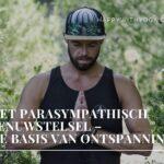 Het parasympathisch zenuwstelsel – de basis van ontspanning