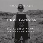 Pratyahara – sluit jezelf af van externe prikkels
