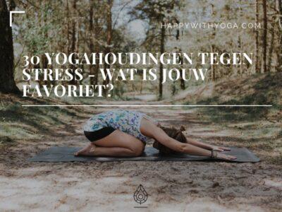 Yogahoudingen tegen stress